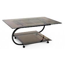 Стол журнальный Мебелик Дуэт 10 черный