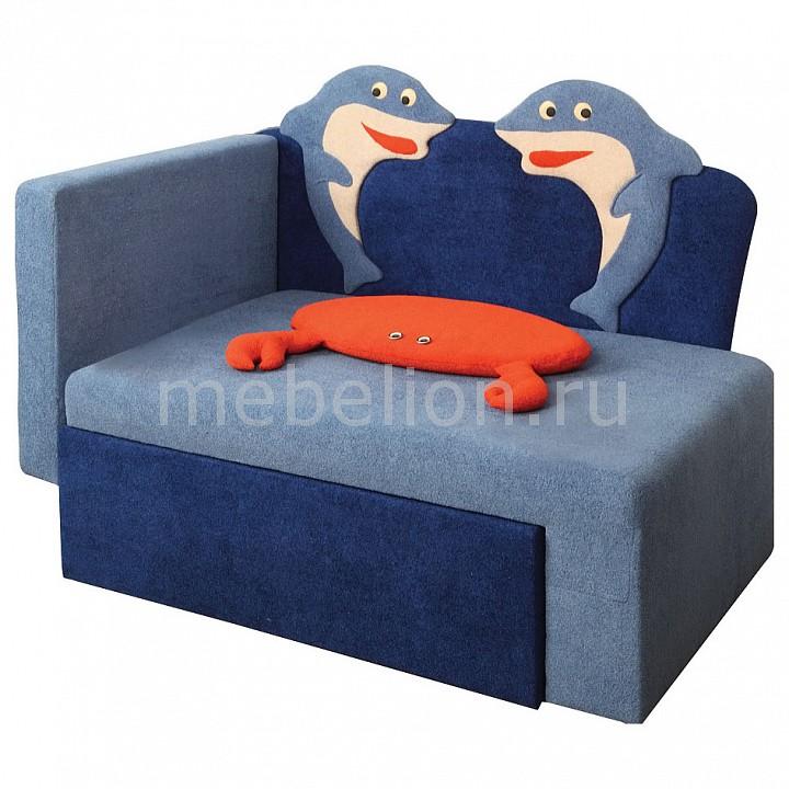 Диван-кровать Соната М11-7 Дельфины 8031127 синий