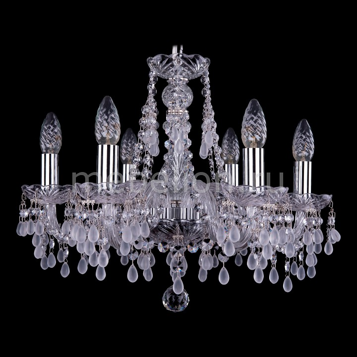 Подвесная люстра Bohemia Ivele Crystal 1410/6/160/Ni/V0300 1410
