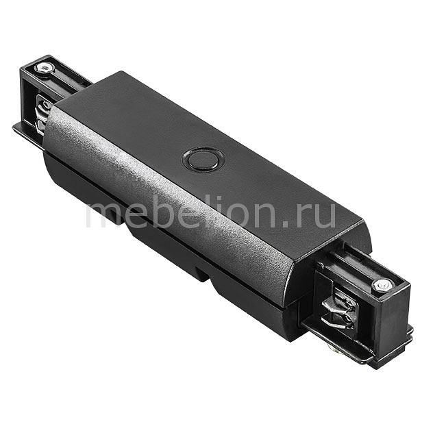 Купить Соединитель Barra 504187, Lightstar, Италия, черный, металл, полимер