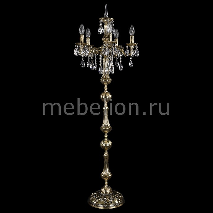 Торшер Bohemia Ivele Crystal 7000/5/125-134/B/GB торшер bohemia ivele crystal 7000 6 125 134 b gb