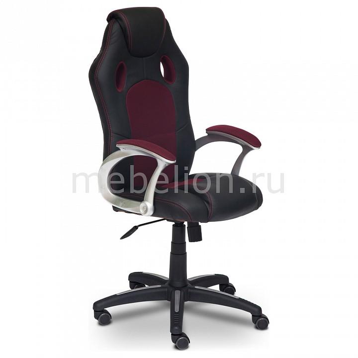 Кресло компьютерное Racer черный_бордовый