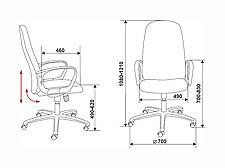 Кресло компьютерное Ch-808AXSN серое