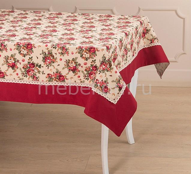 Скатерть АРТИ-М Розовый сад портьера арти м 145х180 см 2 шт розовый сад 850 833 11