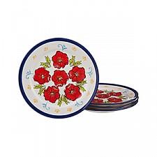 Набор тарелок плоских АРТИ-М Набор из 4 тарелок плоских 536-061
