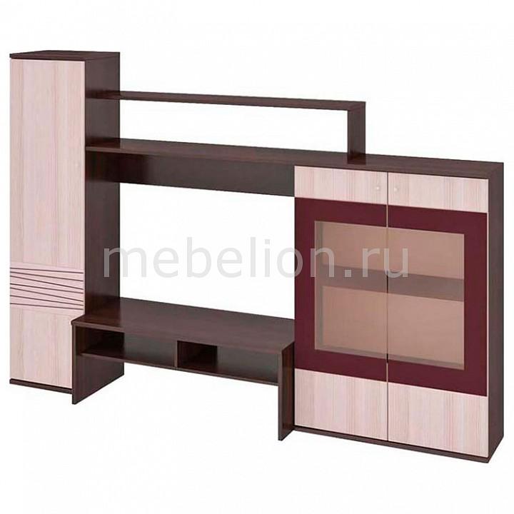 Стенка для гостиной Поло-2 ПМ-142.00 груша монтего/ясень mebelion.ru 14990.000
