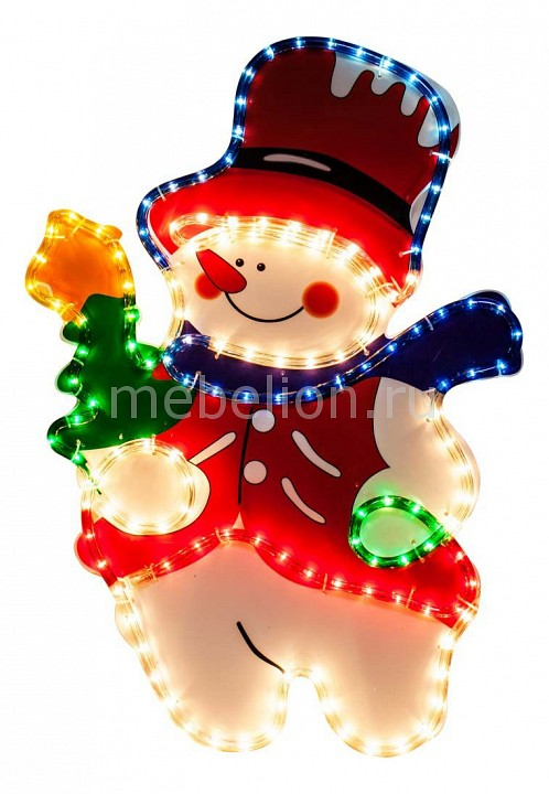 Снеговик световой (67x45 см) LT019 26717