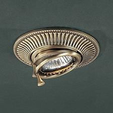 Встраиваемый светильник Reccagni Angelo SPOT 1082 BRONZO 1082