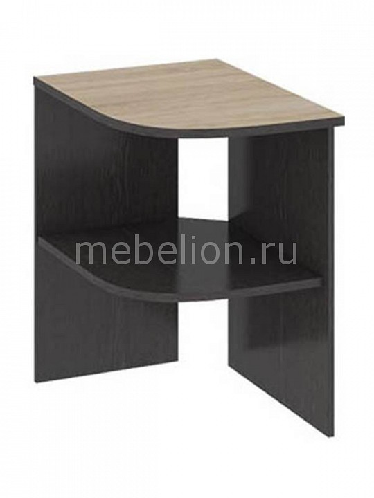 ТриЯ Надстройка для стола Успех-2 ПМ-184.09 венге цаво/дуб сонома мебель трия надстройка для стола успех 2 пм 184 10 венге цаво дуб сонома