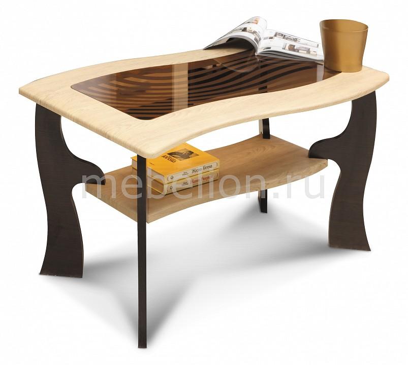 Олимп-мебель Стол журнальный Маджеста-9 1378527 венге/клен азия олимп мебель стол журнальный маджеста 6 1348527