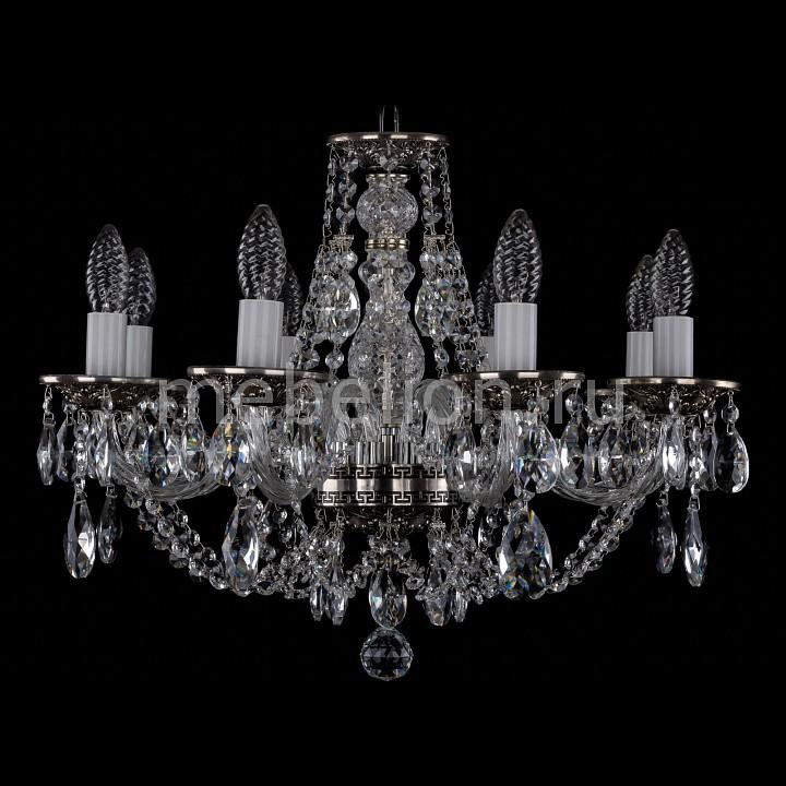 Подвесная люстра Bohemia Ivele Crystal 1606/8/195/NB 1606