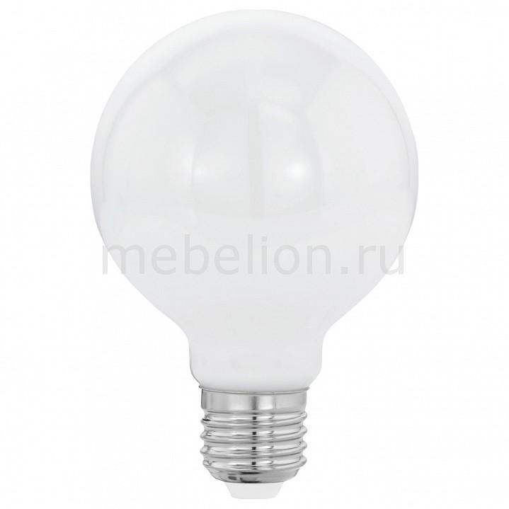 Лампа светодиодная [поставляется по 10 штук] Eglo Лампа светодиодная Милки E27 8Вт 2700K 11601 [поставляется по 10 штук] лампа светодиодная [поставляется по 10 штук] eglo лампа светодиодная g80 e27 2вт 2200k 11556 [поставляется по 10 штук]