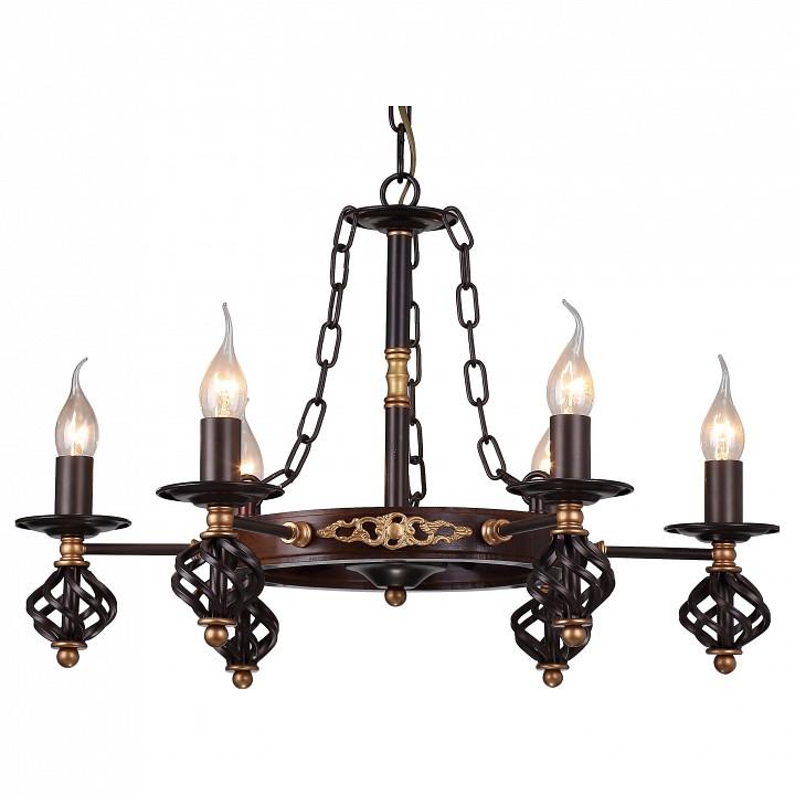 Купить Подвесная люстра Cartwheel A4550LM-6CK, Arte Lamp, Италия