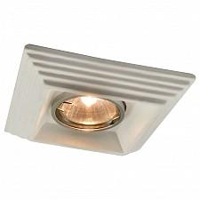 Встраиваемый светильник Plaster A5249PL-1WH