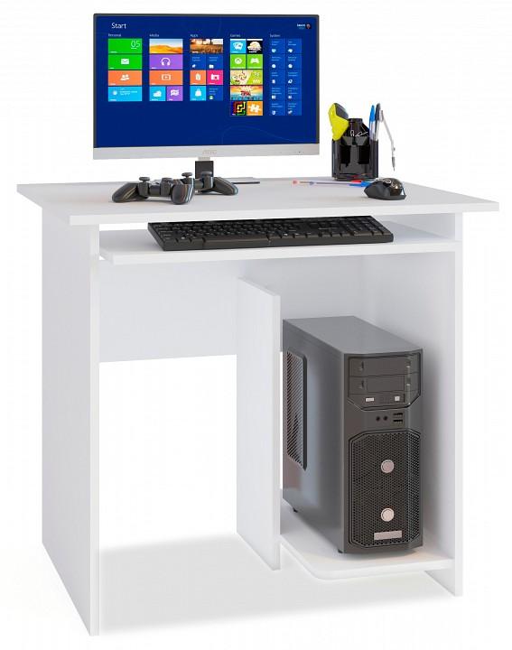 Стол компьютерный Сокол КСТ-21.1 стол компьютерный сокол кст 104 1 испанский орех правый