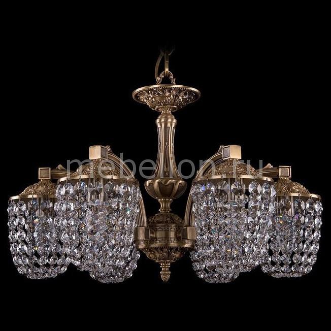 все цены на Подвесная люстра Bohemia Ivele Crystal 1772/6/150/FP онлайн