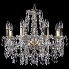Подвесная люстра Bohemia Ivele Crystal 1403/8/160/G 1403