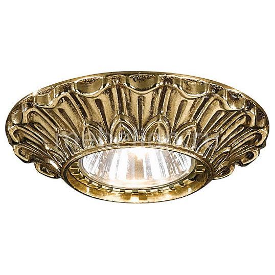 Встраиваемый светильник Reccagni Angelo SPOT 1077 ORO reccagni angelo spot 1097 oro