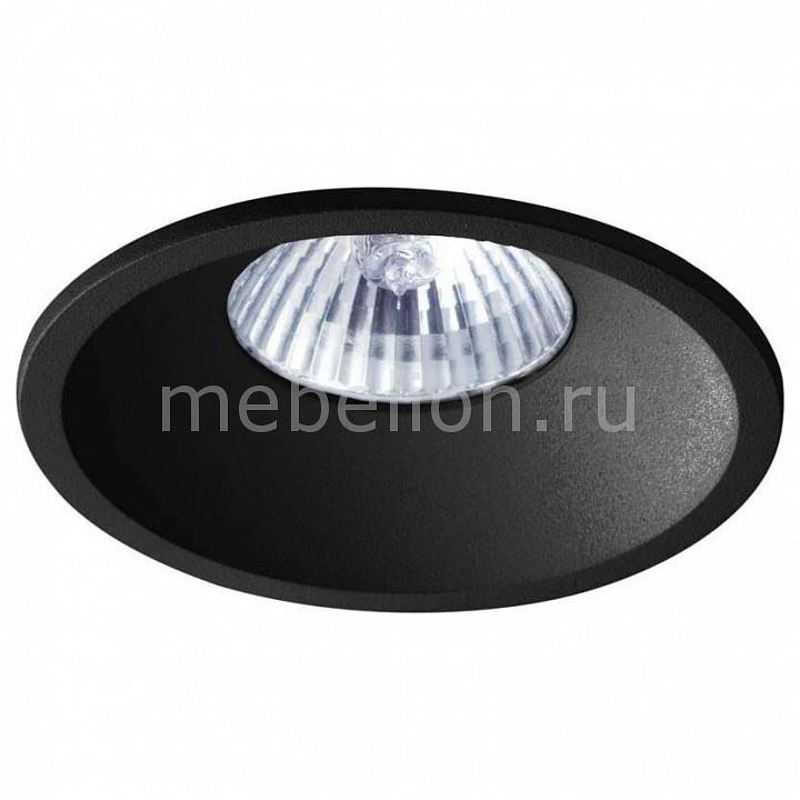 Встраиваемый светильник Donolux DL18412/11WW-R Black donolux donolux светильник встраиваемый mr16 макс 50вт gu10 ip20 блестящий черный черный d110х95 мм б