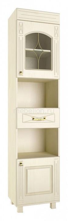 Шкаф комбинированный Компасс-мебель Элизабет ЭМ-3 шкаф витрина компасс мебель элизабет эм 4