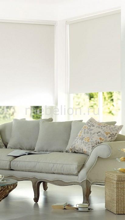 Купить Рулонная штора (120х170 см) 1 шт. ASMIRA, Garden, Россия, белый, полиэстер 100%
