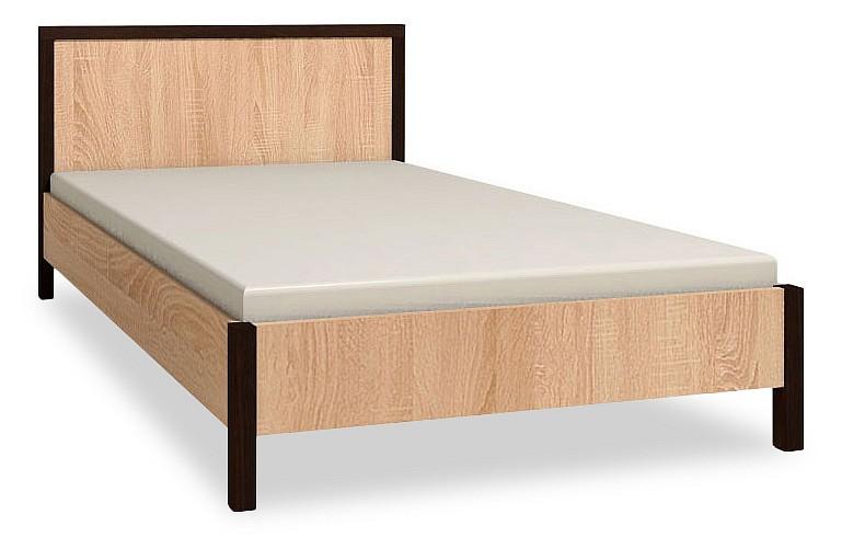 Кровать полутораспальная Баухаус-1