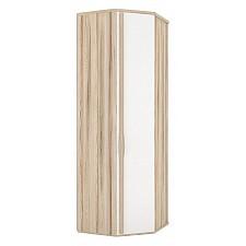 Шкаф платяной 124.030 Марта 03 угловой белый/дезира эш
