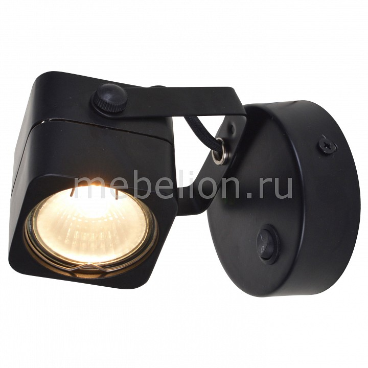 Бра Arte Lamp Lente A1314AP-1BK бра arte lamp lente a1314ap 1bk