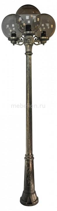 Фонарный столб Fumagalli Globe 300 G30.157.S30.BZE27 фонарный столб fumagalli globe 250 g25 157 s30 aye27