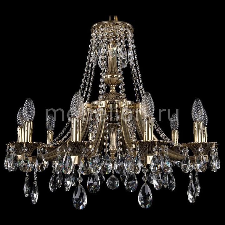 Подвесная люстра Bohemia Ivele Crystal 1771/10/220/A/GB 1771