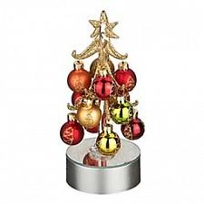 Ель световая с елочными шарами (18 см) ART 594-025