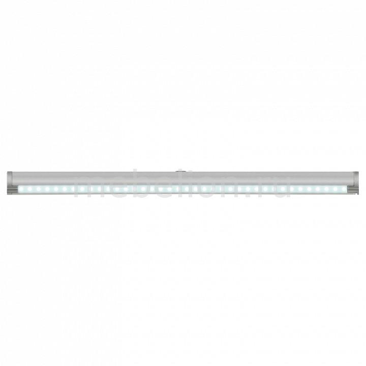 Накладной светильник Uniel ULE-F02 ULE-F02-2W/NW/OS IP20 SILVER подсветка накладная с датчиками 07731 uniel ule f02 4 5w nw os ip20 silver