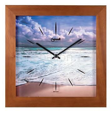 Настенные часы (34х34 см) Lowell 05443