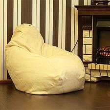 Кресло-мешок Велла бежевая II