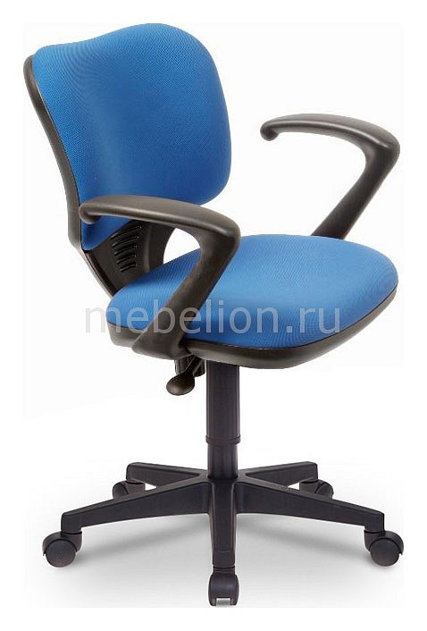 Кресло компьютерное Бюрократ Бюрократ CH-540AXSN-Low синее бюрократ кресло бюрократ ch 540axsn low 26 21 низкая спинка синий 26 21