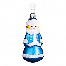 Елочная игрушка (8 см) Снегурочка 860-128