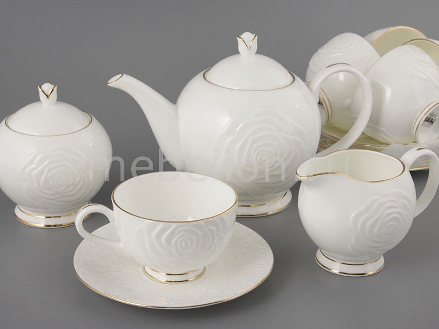 Чайный сервиз Porcelain manufacturing factory Blanco 264-306 менажница porcelain manufacturing factory 388 097