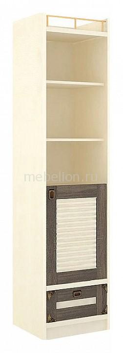 Шкаф комбинированный Калипсо 509.140 штрихлак/сонома эйч темная