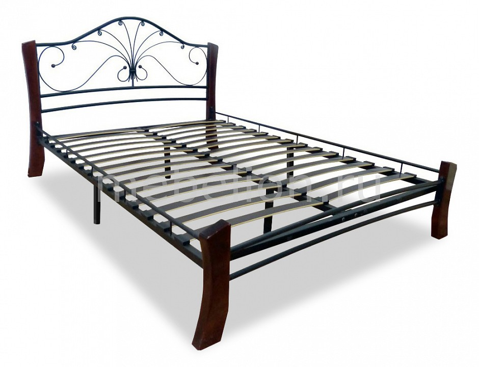 Кровать полутораспальная Мебвилл Фортуна 4 2000х1200