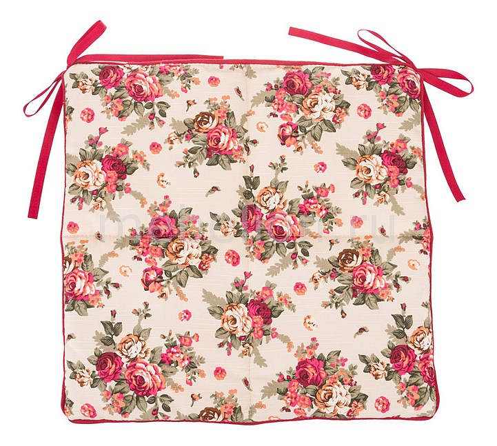 Подушка на стул АРТИ-М Розовый сад портьера арти м 145х180 см 2 шт розовый сад 850 833 11