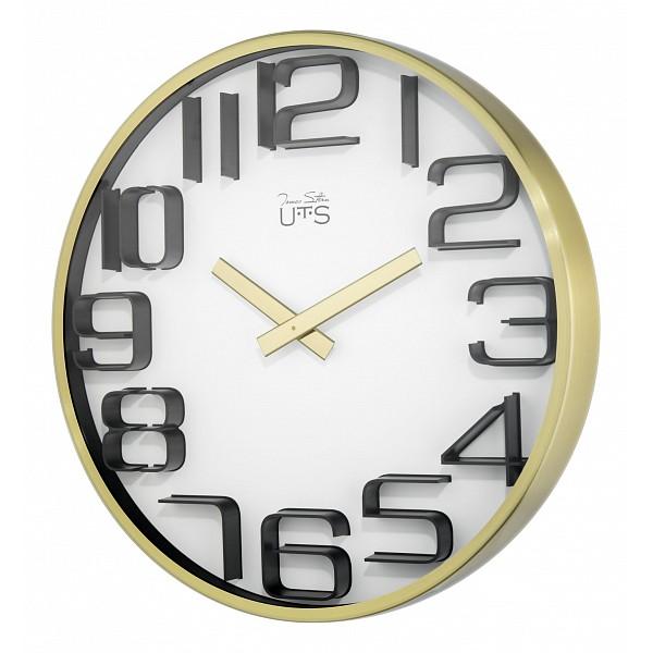 Настенные часы Tomas Stern(30 см) 4002GАртикул - ANK_4002G,Бренд - Tomas Stern (Германия),Серия - 4002G,Выступ, мм - 40,Диаметр, мм - 300,Материал - металл, полимер, стекло,Цвет - белый, золотой, черный,Тип поверхности - матовый,Необходимые компоненты - 1 батарейка АА,Дополнительные параметры - кварцевый механизм Young Town<br><br>Артикул: ANK_4002G<br>Бренд: Tomas Stern (Германия)<br>Серия: 4002G<br>Выступ, мм: 40<br>Диаметр, мм: 300<br>Материал: металл, полимер, стекло<br>Цвет: белый, золотой, черный<br>Тип поверхности: матовый<br>Необходимые компоненты: 1 батарейка АА<br>Дополнительные параметры: кварцевый механизм Young Town