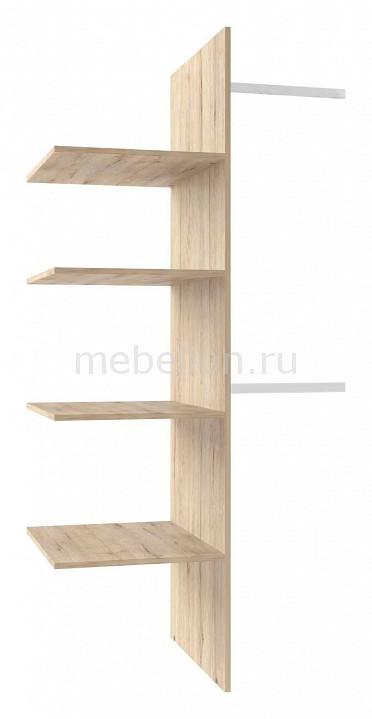 Панель с полками для шкафа Oskar 2DG