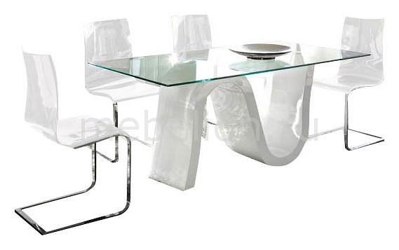 Набор обеденный Dupen DT-04/1003_white стол обеденный dupen dt 01 белый