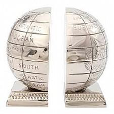 Держатель для книг (15х17см) Алюминиевый глобус IK41252