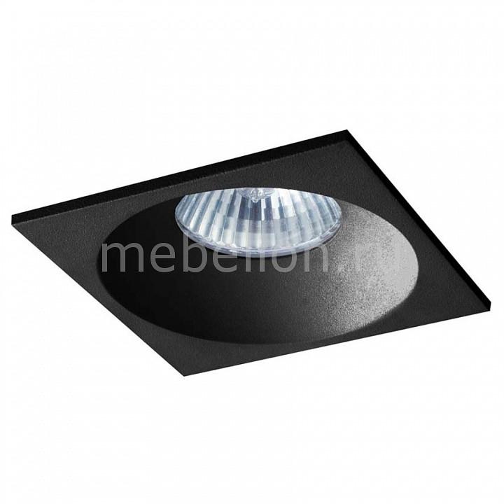 Встраиваемый светильник Donolux DL18412/11WW-SQ Black donolux donolux светильник встраиваемый mr16 макс 50вт gu10 ip20 блестящий черный черный d110х95 мм б