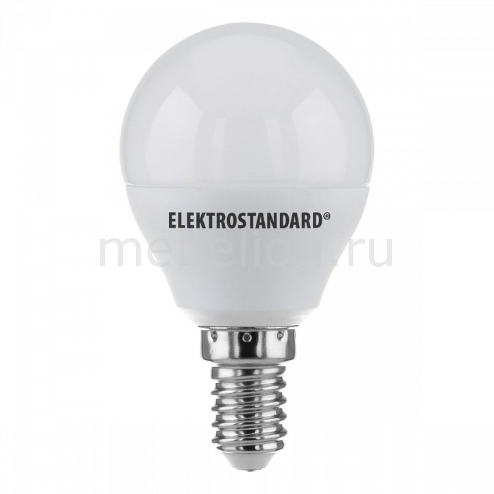 Лампы светодиодная Elektrostandard Mini Classic LED 7W 3300K E14 матовое стекло jrled e14 5w 330lm 3300k 64 smd 3014 led warm white light bulb ac 220 240v