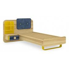 Кровать детская Любимый Дом Джинс 507.100 сантана/джинс/желтый бриллиант