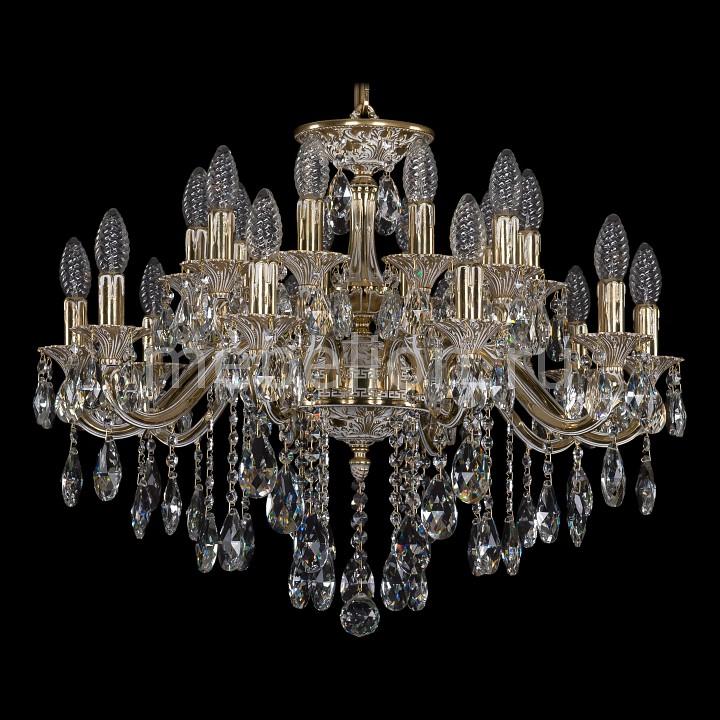 Подвесная люстра Bohemia Ivele Crystal 1703/20/225/B/GW 1703