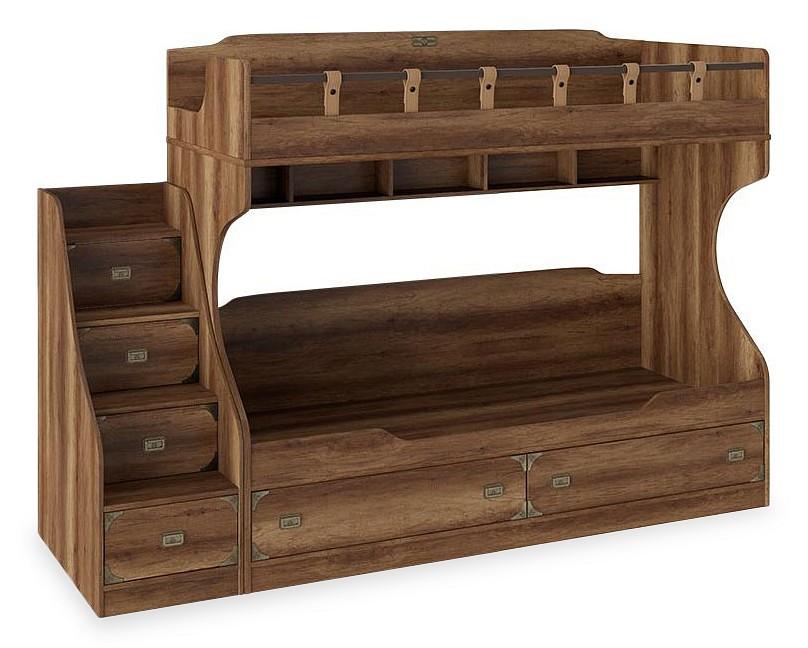 Кровать двухъярусная Мебель Трия Навигатор СМ-250.11.12 гарнитур для детской мебель трия навигатор