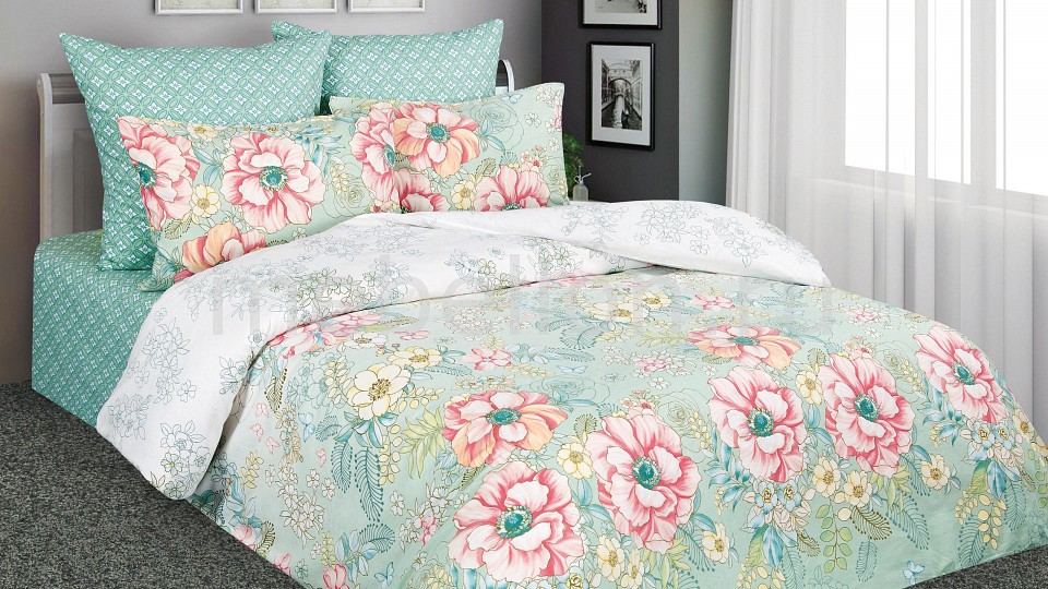 Комплект двуспальный Amore Mio Дивный сад